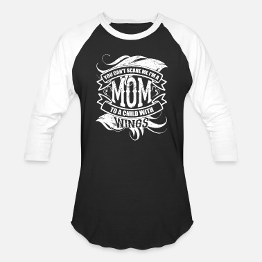 Wing I'm A Mom To Child With Wings T Shirt - Baseball T-Shirt