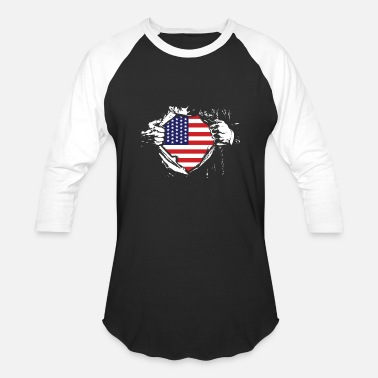Usa USA USA USA - Baseball T-Shirt