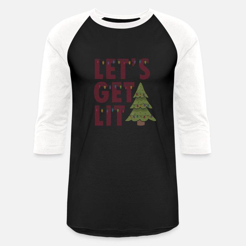 Ugly Christmas Sweater Sayings Unisex Baseball T Shirt Spreadshirt