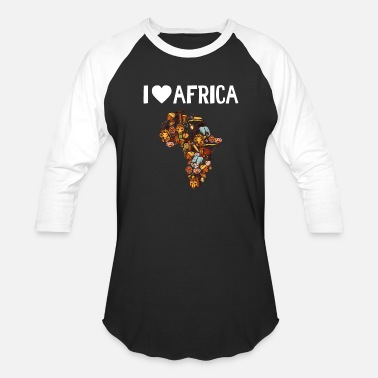 Gardening Sayings Kids I Love Africa - Baseball T-Shirt