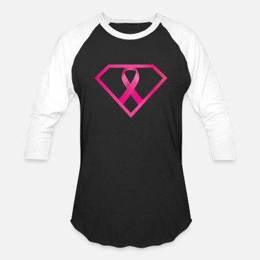 Breast Cancer Ribbon Breast Cancer Awareness T Shirt Gift 2018 - Unisex Baseball T-Shirt