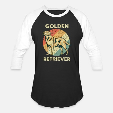 Animal Protection Sports Golden Retriever Dog Animal Love - Baseball T-Shirt