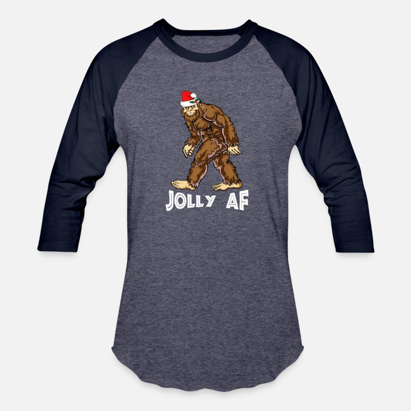 277a6f7e Unisex Baseball T-ShirtBigfoot Christmas Shirt Boys Youth Women Men.  thekcstore. Choose a size. S