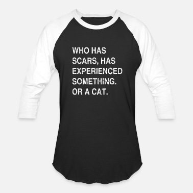 Scar Scars cat - Unisex Baseball T-Shirt