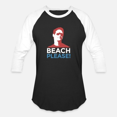 Summer Beach Please! Lets get swimming Summer Outing - Baseball T-Shirt