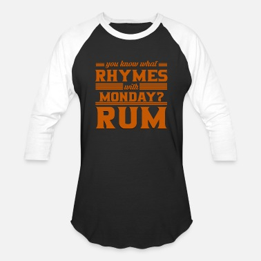 Rum Alcohol Rum - Baseball T-Shirt