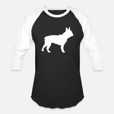 Bulldog French bulldog - Unisex Baseball T-Shirt