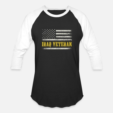 Iraq IRAQ VETERAN - Unisex Baseball T-Shirt