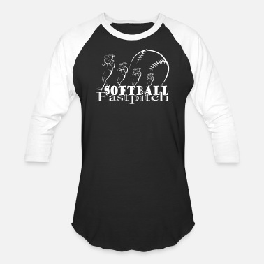 Fastpitch FASTPITCH SOFTBALL SHIRT - Unisex Baseball T-Shirt
