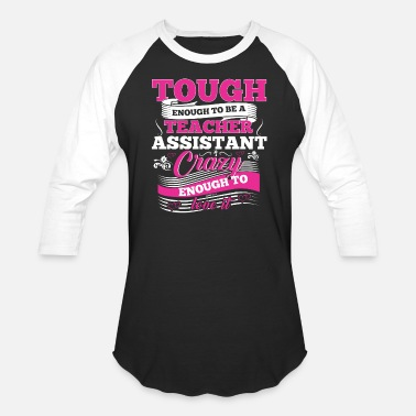 Teaching The Teacher Assistant Preschool Kindergarten Tee - Baseball T-Shirt
