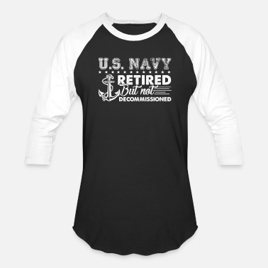 Us US Navy Retired Shirt - Baseball T-Shirt