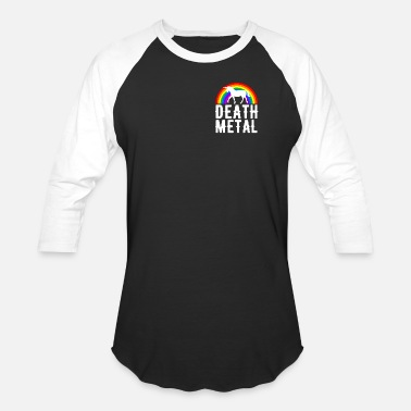 Death Metal Death Metal - Baseball T-Shirt