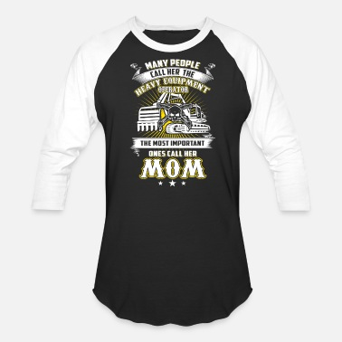 Operator MOM Heavy Equipment Operator T-Shirts - Baseball T-Shirt