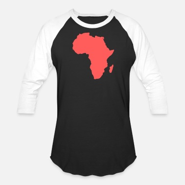 Peace Africa Because, Africa - Unisex Baseball T-Shirt