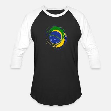 Brazil Designs brazil flag design - Baseball T-Shirt
