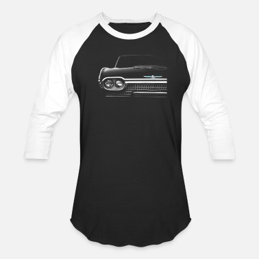 1962 Ford Thunderbird High Contrast - Unisex Baseball T-Shirt