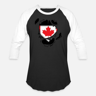 Schland Proud Canada flag - Awesome canada flag t-shirt - Baseball T-Shirt
