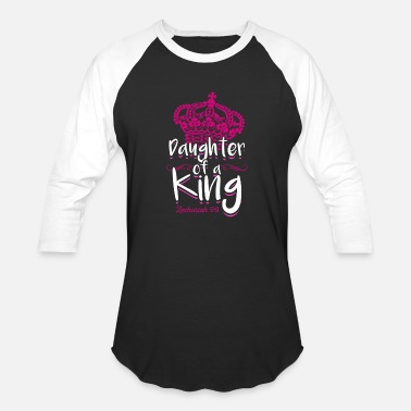 Daughter of A King Zechariah 9 9 Christian Gift - Unisex Baseball T-Shirt