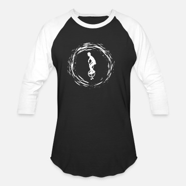 Unicycle Unicycle - Unisex Baseball T-Shirt