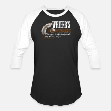 Writers Block WRITER'S BLOCK TEE SHIRT - Baseball T-Shirt