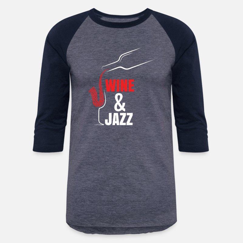 Shirt Unisex Festival Wineamp; Teeshirt Drink Baseball Jazz T Design XlOPwikuTZ