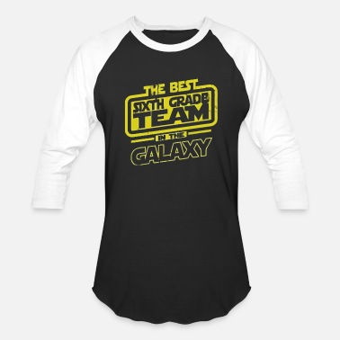 Team 6 The Best 6 Sixth Grade Team In The Galaxy - Baseball T-Shirt