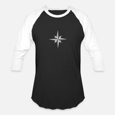 North Sea Star North - Unisex Baseball T-Shirt