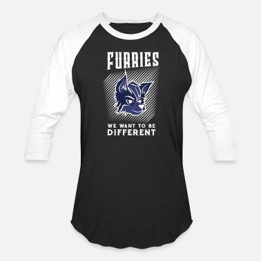 Fandom Cute Furries t-shirt for young and old - Baseball T-Shirt