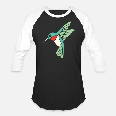 Ticker Hummingbird - dicky ticker hummingbird - Unisex Baseball T-Shirt