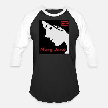 Mary Jane Mary Jane - Unisex Baseball T-Shirt