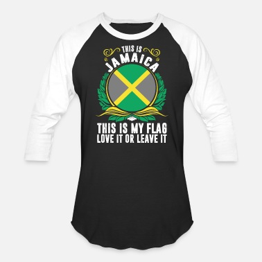 Funny Jamaica This Is Jamaica - Baseball T-Shirt