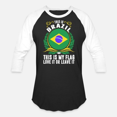 Brazil This Is Brazil - Baseball T-Shirt