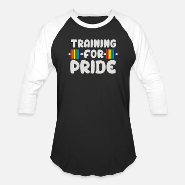 Training For Pride Training For Pride - Unisex Baseball T-Shirt