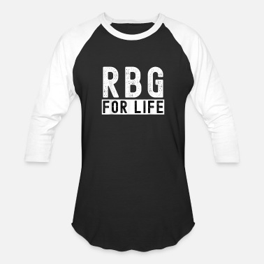 RBG For Life Vote 2020 Election Human Rights Equal - Unisex Baseball T-Shirt