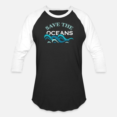 Oceanic Ocean - Save the oceans - Unisex Baseball T-Shirt
