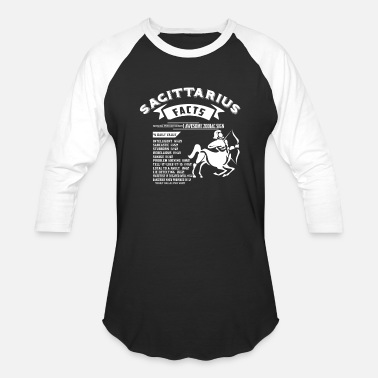 Sagittarius December SAGITTARIUS FACTS - Baseball T-Shirt