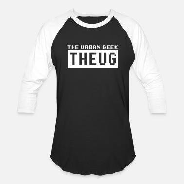 Streetwear Nerd THEUG - The Urban Geek - Baseball T-Shirt