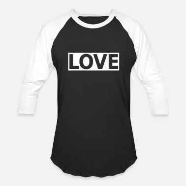 Statement Hipster Love Statement Hipster Symbol - Unisex Baseball T-Shirt
