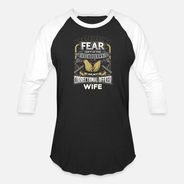 Correctional Officers Wife Correctional Officer Wife - Unisex Baseball T-Shirt