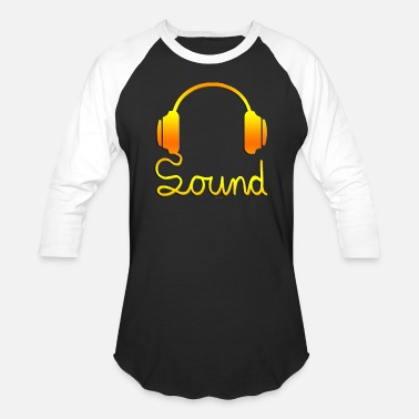Headphones headphone - Unisex Baseball T-Shirt