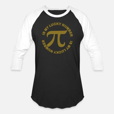 Genius Pi is my Lucky Number - Baseball T-Shirt