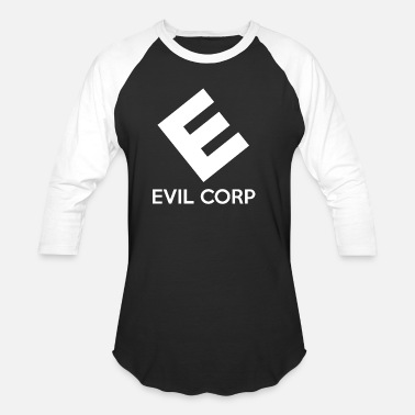 Vegans Are Evil Evil Corp - Baseball T-Shirt