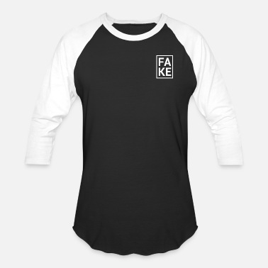 Fake Fake Design xpt02 - Unisex Baseball T-Shirt