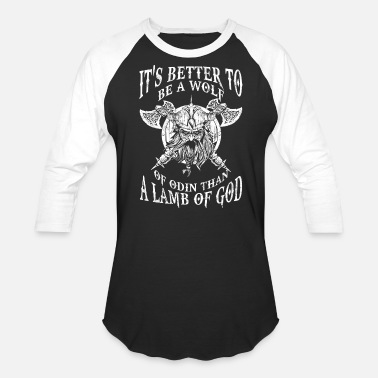 Be a wolf of Odin - Better than a lamb of God Men s Premium T-Shirt ... 1753c633f