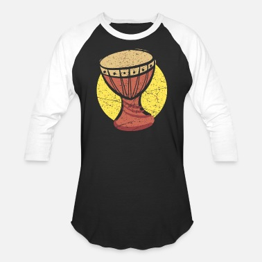 African Drummer Drums - african drums - Baseball T-Shirt