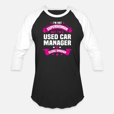 Used Cars Used Car Manager - Unisex Baseball T-Shirt