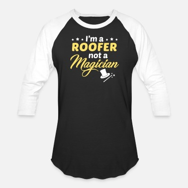Roofer Clothes Roofer - Unisex Baseball T-Shirt