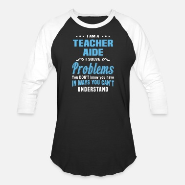 Aids Teacher Aide - Unisex Baseball T-Shirt