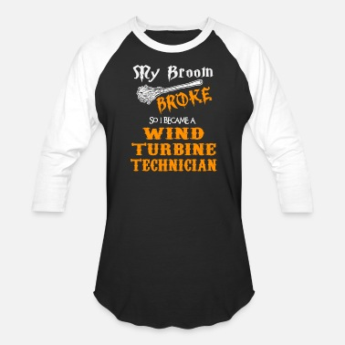 Turbine Wind Turbine Technician - Unisex Baseball T-Shirt