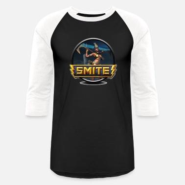 364f14389 Smite Smite Neith Logo - Unisex Baseball T-Shirt